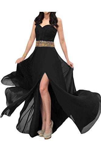 Missdressy - Vestido - trapecio - para mujer negro 44