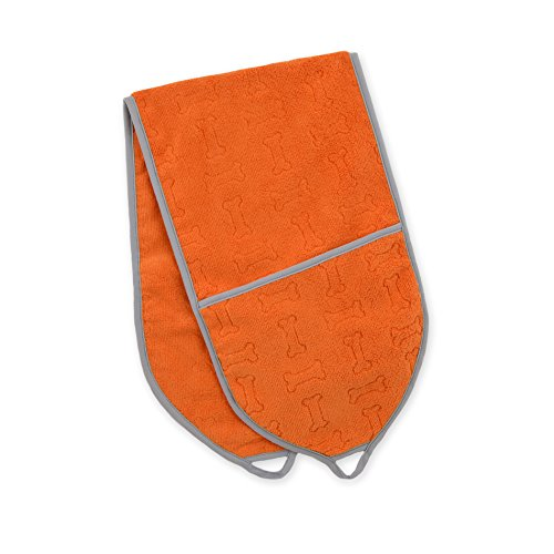 Territory Modern Collection Pocket Towel, Orange