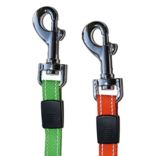 Dual Doggie Pet Leash - Up to 35 Lbs Per Dog and Zero Tangle - Walk Two Dogs At Once