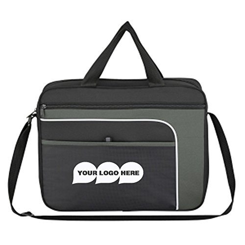 Ventura Messenger Bag - 50 Quantity - $8.75 Each - PROMOTIONAL PRODUCT / BULK / BRANDED with YOUR LOGO / CUSTOMIZED by CloseoutPromo