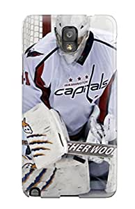 For Galaxy Note 3 Tpu Phone Case Cover(washington Capitals Hockey Nhl (1) )