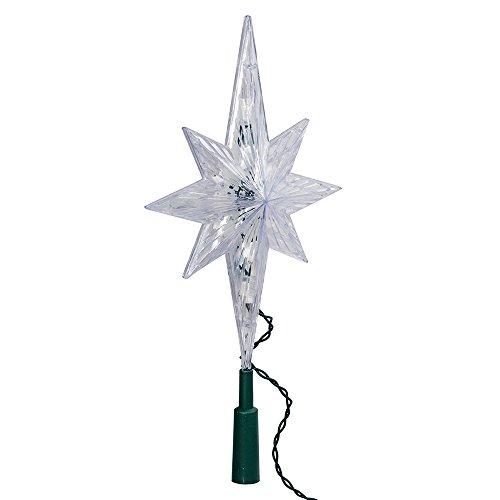 Kurt Adler 10 Light Indoor 11-Inch Bethlehem Star Treetop -
