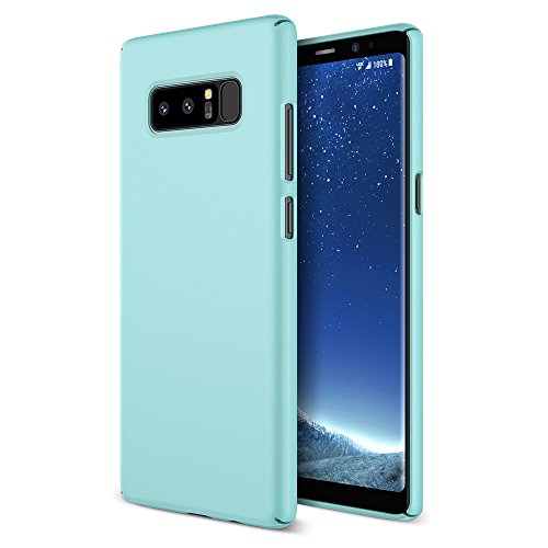 Maxboost mSnap Galaxy Note 8 Case [Turquoise] Extreme Smooth Surface [Scratch Resistant] Matte Coating for Excellent Grip Thin Hard Protective PC Cover for Samsung Galaxy Note 8 (2017)