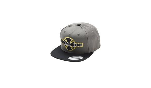 Independent - Gorra de béisbol - para hombre Noir - Charcoal/Black ...
