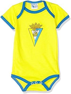 Cádiz CF Bodcad Body, Bebé, Multicolor (Amarillo/Azul), 12: Amazon.es: Deportes y aire libre