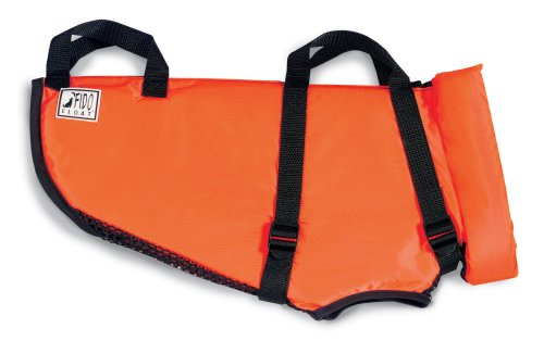 Premier Fido Float Dog Life Vest, Small, Orange