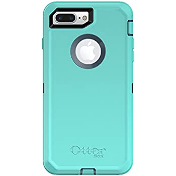 OtterBox DEFENDER SERIES Case for  iPhone 8 Plus & iPhone 7 Plus (ONLY) - Frustration Free Packaging - BOREALIS (TEMPEST BLUE/AQUA MINT)