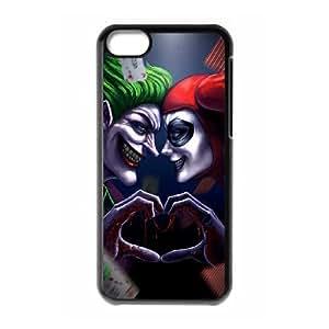 Harley Quinn y Joker S9S65X3HQ funda iPod Touch 6 caso funda 4Q1I6L negro