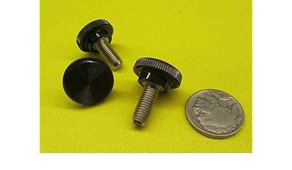 Raised Knurled-Head Thumb Screw Thread Size #10-32 Brass
