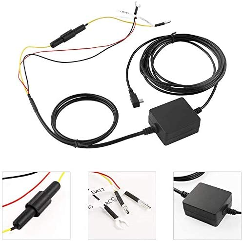 55 45 dosili Hardwire Kit and 64gb Micro sd Card,for Garmin Parking Mode Cable 65,Mini 010-12530-03