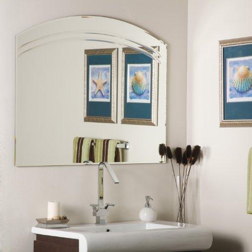 Decor Wonderland Angel Frameless Wall Mirror, -