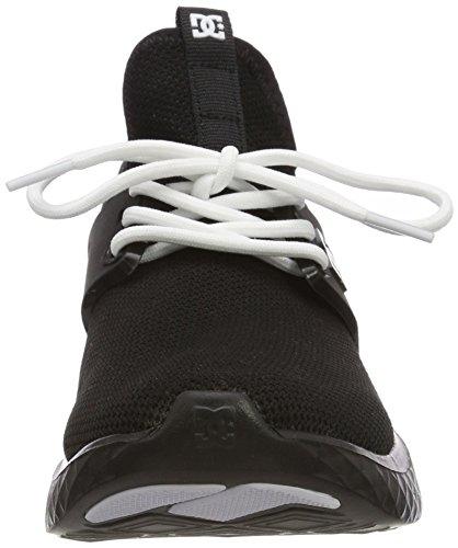 Bkw para Negro Shoes Mujer Meridian Zapatillas White DC Black 8pzTqtRzn