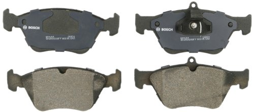 - Bosch BP644 QuietCast Premium Semi-Metallic Disc Brake Pad Set For 1994-1997 Saab 900; Front