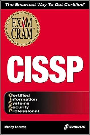 CISSP Exam Cram (Exam Cram (Coriolis Books))