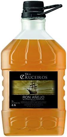 RON AÑEJO DOS CRUCEIROS 3L: Amazon.es: Alimentación ...