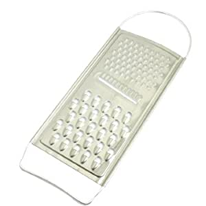 uxcell Staninless Steel Shreds Slices Potato Carrot Grater Peeler 10 Inch