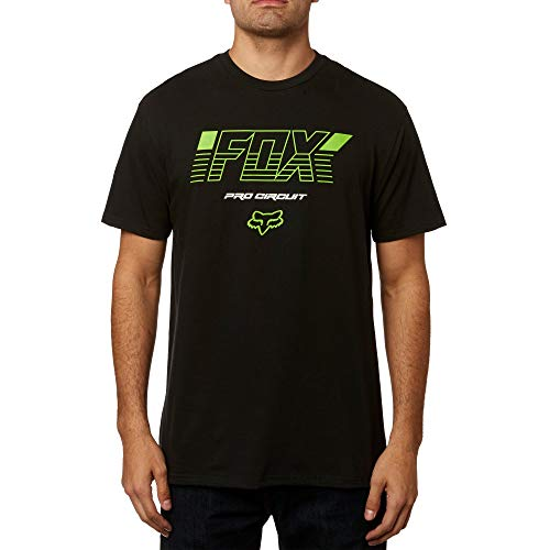 Fox Racing Pro Circuit Basic T-Shirt-Black-L (Racing Hoodie Fox Monster)