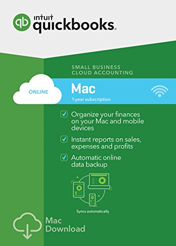 QuickBooks Online Mac 2017 Small Business Accounting [Mac Download]