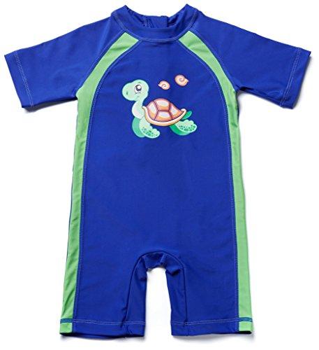 Attraco toddler rash guard baby boys swimming costume Sunsuit Rashguard UPF (Baby Swimming Costume)