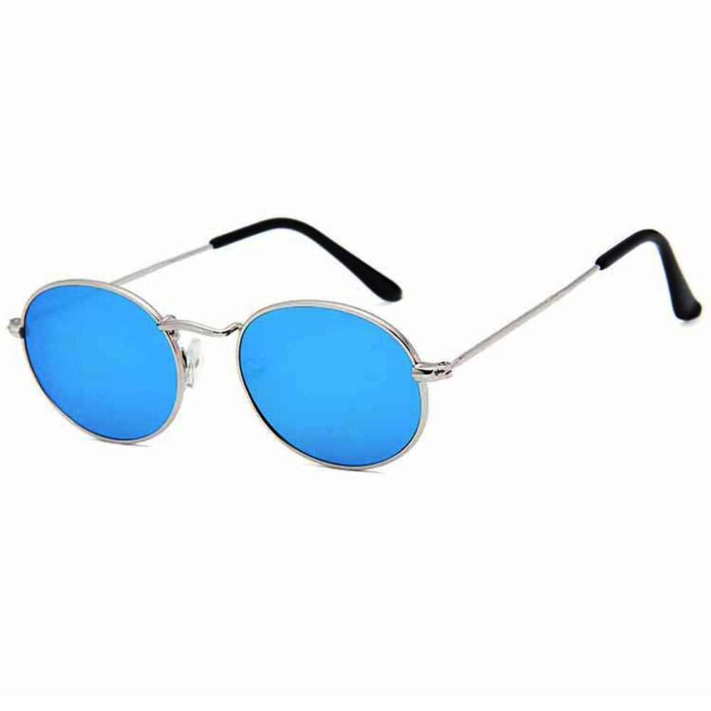 Nuanxin Pilot Sunglasses Steampunk Tac Polarized Lens UV400 Protection Unisex Design Blue