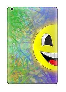 Ipad Cover Case - Happy Colorful Protective Case Compatibel With Ipad Mini/mini 2