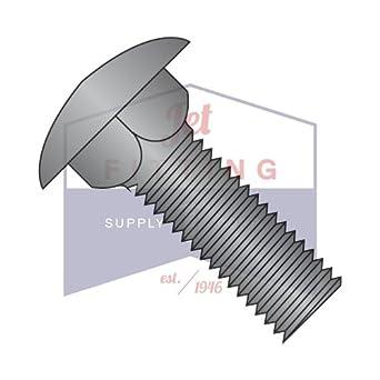 Quantity: 5,000 pcs 8-32 x 1 Carriage Bolts//Full Thread//Steel//Black Oxide