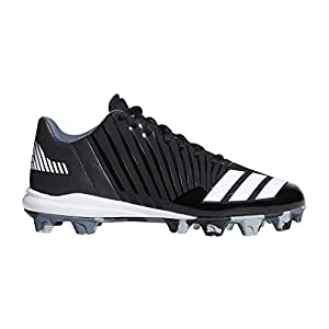 adidas Originals Men's Freak X Carbon Mid Baseball Shoe, Core Black, FTWR White, Onix, 10 M US