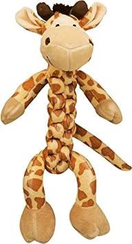 Kong Safari Braidz Girafe Jouets en Peluche pour Chiens S BS32