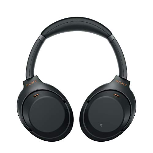 Sony WH-1000XM3 Industry Leading Wireless Noise Cancelling Headphones, Bluetooth Headset with Mic for Phone Calls, 30 Ho