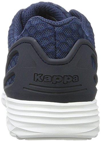 Kappa Basse Blu Trust da Ginnastica 2 White Navy 6710 Unisex Scarpe Adulto 1 rrwqT6a