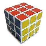 CubyZac White Standard Speed Cube - Fair Price 3x3 Speedcube