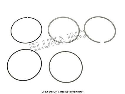 Amazon Com 4 X Bmw Oem Crankshaft Piston Ring Set 91 99 Mm