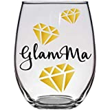 Glamma Glam-ma Grandma Wine Glass