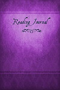 Reading Journal: The Book-Lover's Diary, 6x9, violet