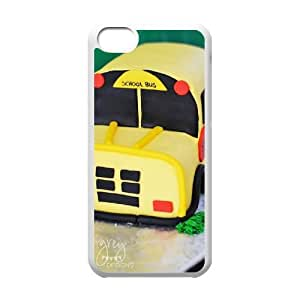 School Bus DIY Case Cover for iPhone 5C LMc-10659 at LaiMc