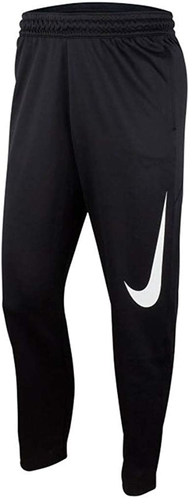 Nike Therma-fit - Pantalones de baloncesto para hombre, color negro  (XXX-Large)