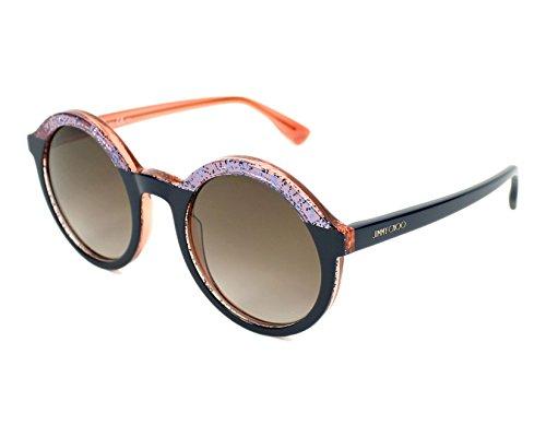 Jimmy Choo GLAM/S Blue Brown - Sunglasses Choo Jimmy Blue
