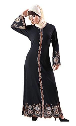 Schwarz Schwarz Essence East Kleid Damen Durchgehend RxTFq