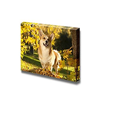 Canvas Prints Wall Art - Welsh Corgi Pembroke Dog - 12