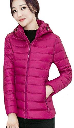 Ashlard Beautiful Women's Fashion Ultra Light Down Coat Long Sleeve Jacket 7XX-Large