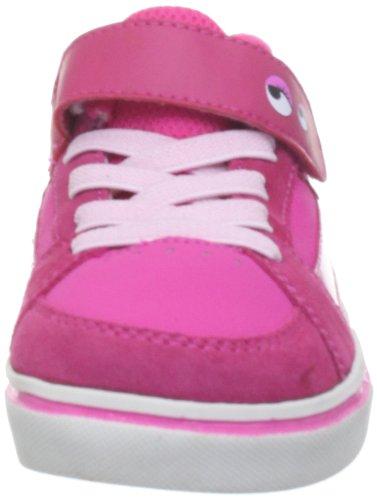 Etnies Disney Monsters Toddler RVM - Zapatillas deportivas de cuero infantil rosa - rosa