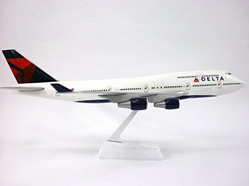 Airline Hobby Shop (Boeing 747-400 Delta Airlines 1/200 Scale Model)