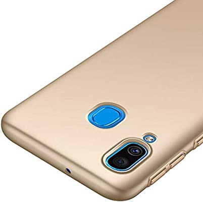 Richgle Funda Samsung Galaxy A40, Oro Ultra Slim Protectora Funda ...