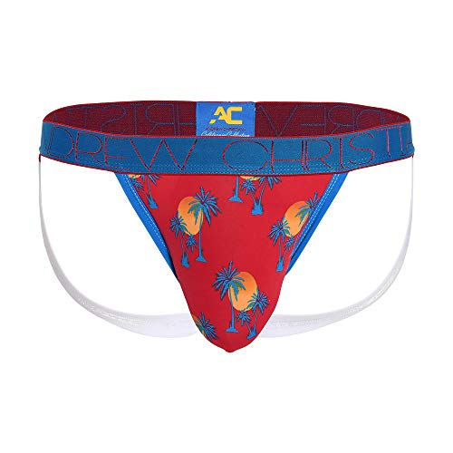 California Collection Laguna Palms Jock Red (Underwear Andrew Christian)
