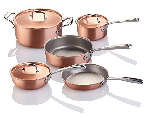FALK 8-piece Falk Copper Signature Line Chef's Set