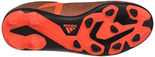 adidas X 17.4 FxG - Zapatillas de Fútbol Unisex Niños Multicolor (Core Black/solar Red/solar Orange)