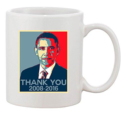New Thank You President Obama United States America USA DT Coffee 11 Oz Mug