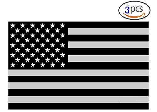 (JIAYI American Subdued Flag Sticker Tactical Military Sticker/american flag car decal/truck decals/4