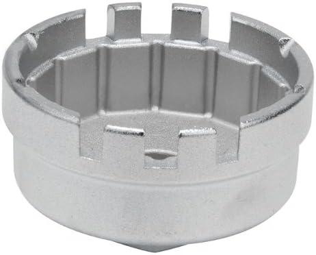 KS TOOLS 150.9212 Cloche Filtre /à Huile 3//8 /64,5mm 14 pans 1 Encoche du Coffret 150.9210.