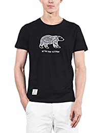 "<span class=""a-offscreen"">[Sponsored]</span>Men's Bear Graphic Smooth Surface T-Shirt"